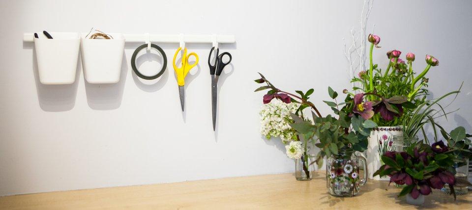 Florist Work Area