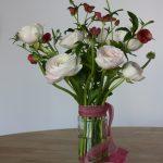 Vase of Ranunculus