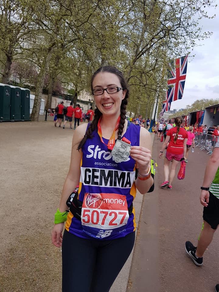Gemma London Marathon