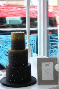 Sparkles and Swirls Cake