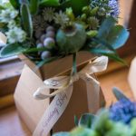 Wedding Bouquet Presentation