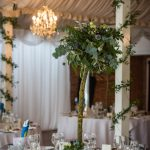 Foliage tree wedding tablecentres