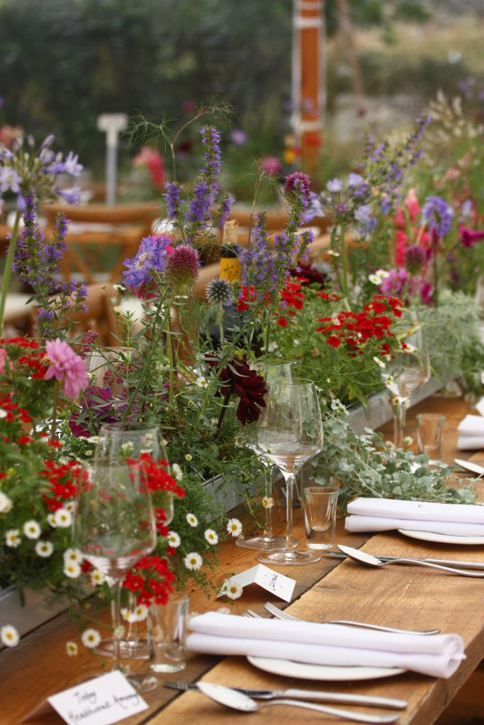 Floral Wedding Table Runners