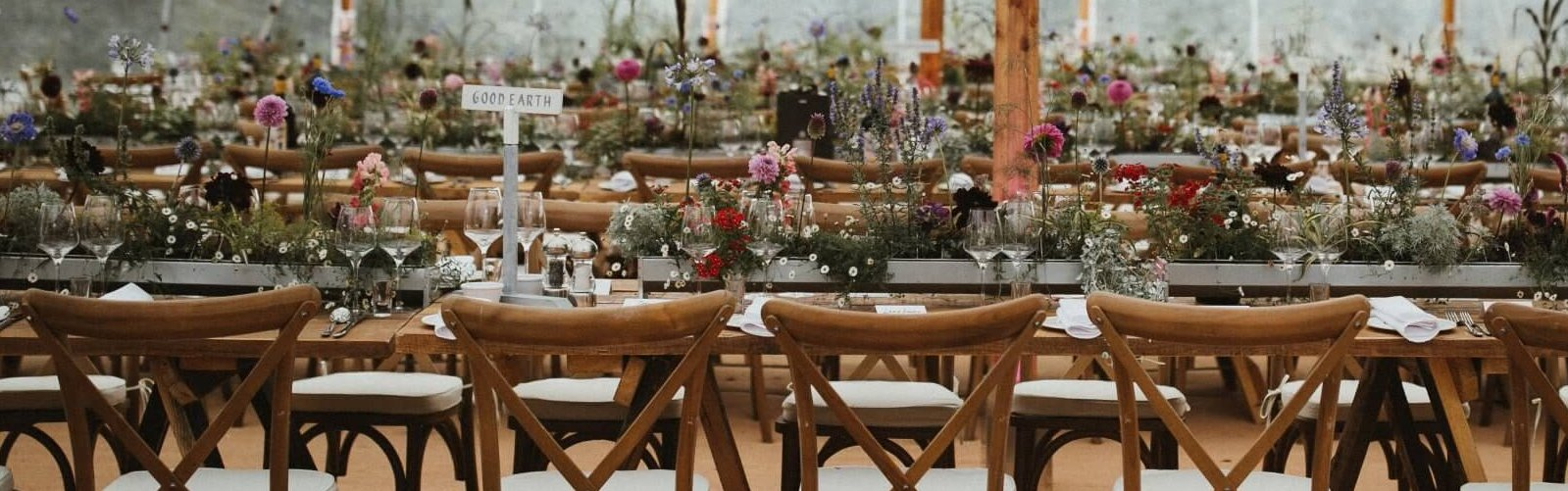 Falconhurst trestle tables