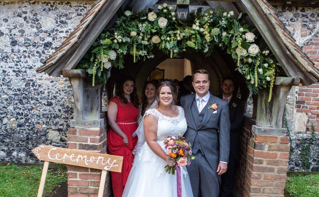 Preston Court Church Floral Arch
