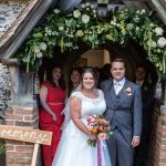 Preston Court Church Floral Arch