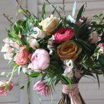 Bridal bouquet, spring bouquet