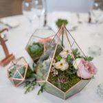 terrarium wedding, terrarium centrepiece