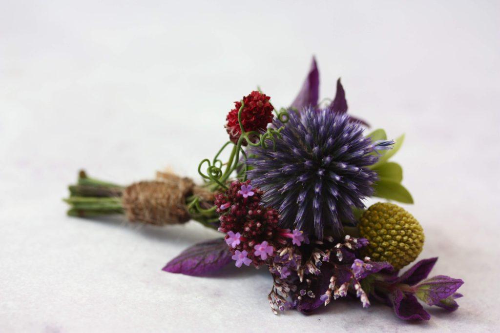 British flower buttonhole